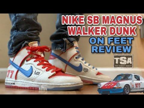 NIKE SB DUNK MAGNUS WALKER URBAN OUTLOW SNEAKER ON FEET REVIEW, AIR JORDAN 3 RACER BLUE UNBOXING
