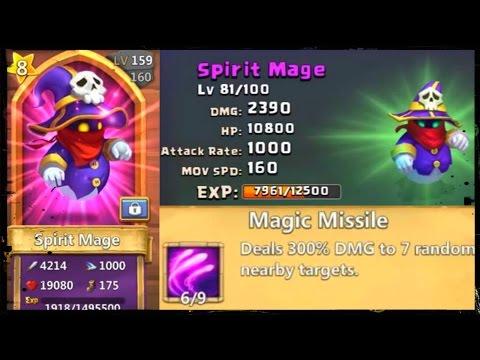 Best Talent For Spirit Mage - NOT Sprint 5! + Talent Rolls Part 1 - Castle Clash D143