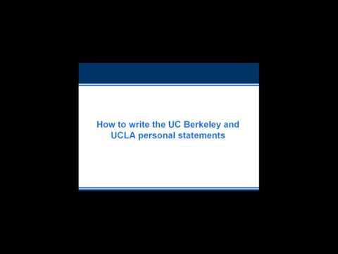 How to Get Accepted by UC Berkeley and UCLA (Admissions Essays Explained)
