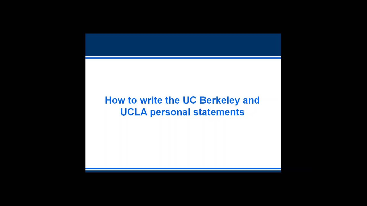 Essay for uc admission
