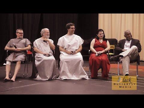 """Memphis Actors Talking About Interview - Cast of """"Medea"""""""