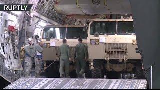США начали развёртывание комплексов ПРО THAAD в Южной Корее