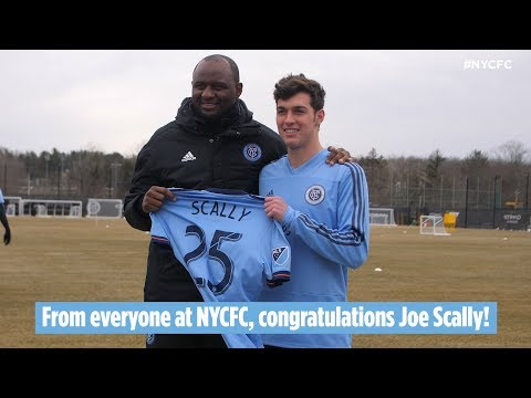 New York City FC Signs Joe Scally as Second Homegrown Player