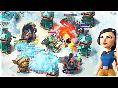 This Strategy is SO GOOD! Boom Beach All Zookas with NEW Gunboat Ability!!