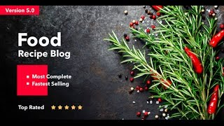 Neptune Wordpress Theme Review & Demo | Theme for Food Recipe Bloggers & Chefs | Neptune Price & How to Install