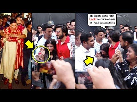 Ranveer Singh Protects Gully Boy Director Zoya Akhtar Just Like He Protect His Wife Deepika Padukone Mp3