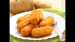 Закуска из картофеля как в Макдональдсе. Картофельные крокеты