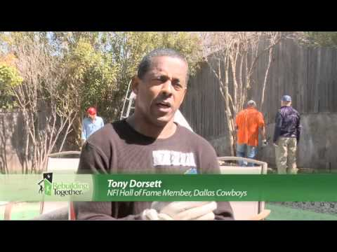 Rebuilding together dallas nfl robert newhouse youtube for Www newhouse com