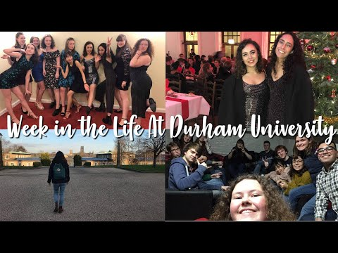 A Week in the Life at Durham University (Christmas Edition) // St Mary's College
