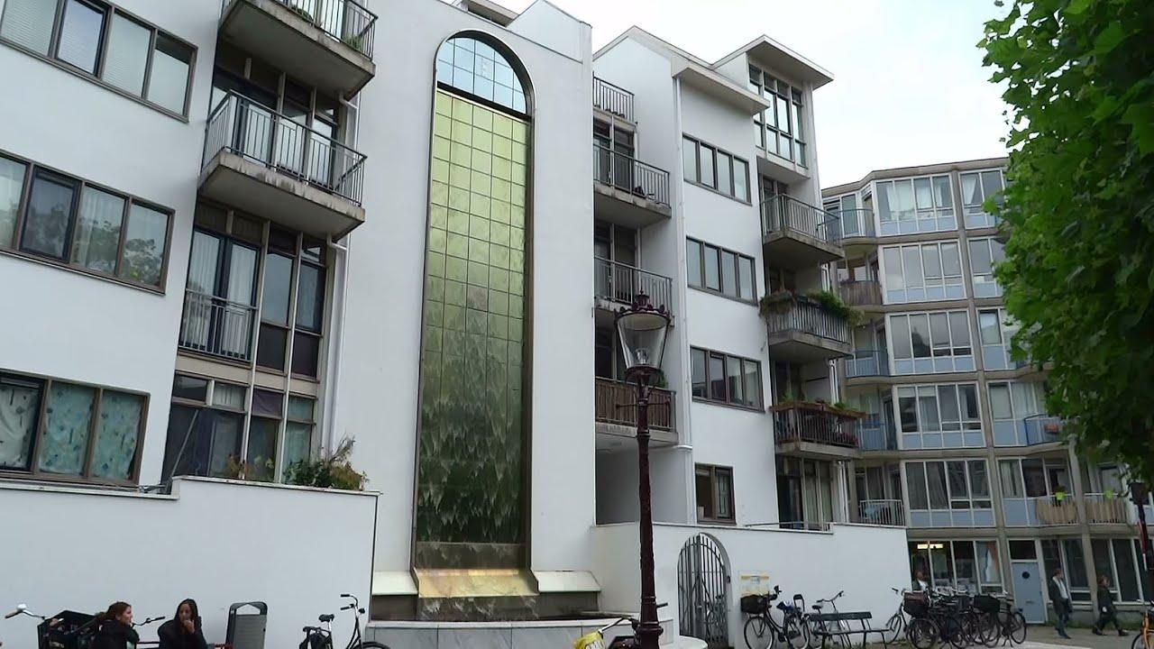 watergordijn op het zuiderkerkhof amsterdam youtube. Black Bedroom Furniture Sets. Home Design Ideas