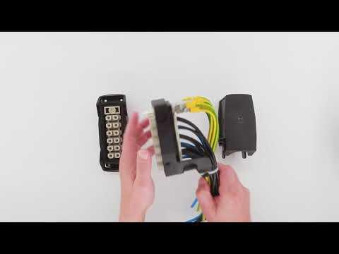 HARTING Han-Eco® Modular 24 Snap - Assembly instruction