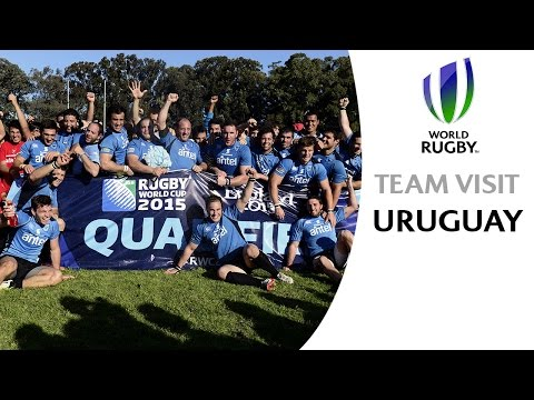 Uruguay visit Manchester City ahead of RWC