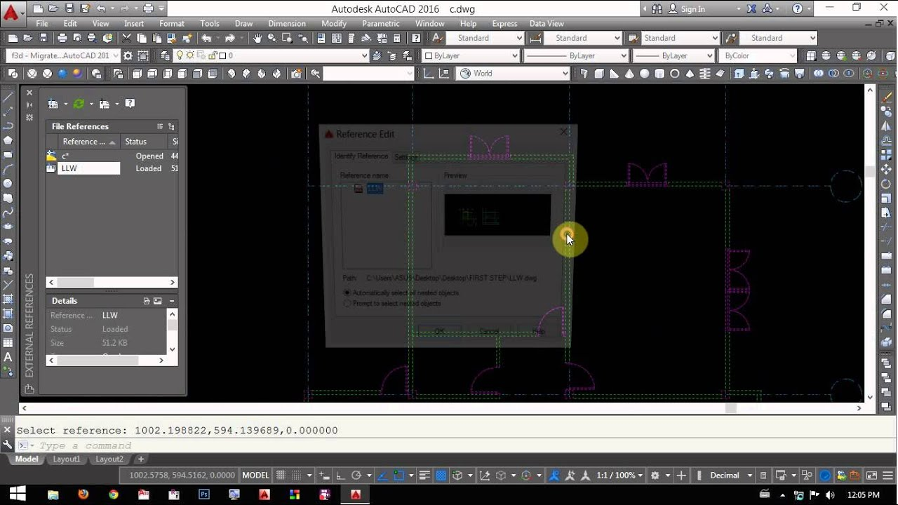 how to use external references in autocad  how to use external references in autocad 2016 415541214116415341214140