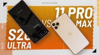 12GB RAM Galaxy S20 Ultra cực bá: đối đầu iPhone 11 Pro Max