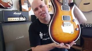 Checking out the Paul Reed Smith CE 24