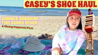 CASEY'S SHOE HAUL | SUMMER SAN…
