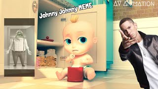 Johnny Johnny Yes Papa Meme (Remake) | AV-Animation