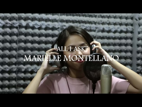 All I Ask (Adele) cover by Marielle Montellano