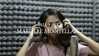 all i ask adele cover by marielle montellano