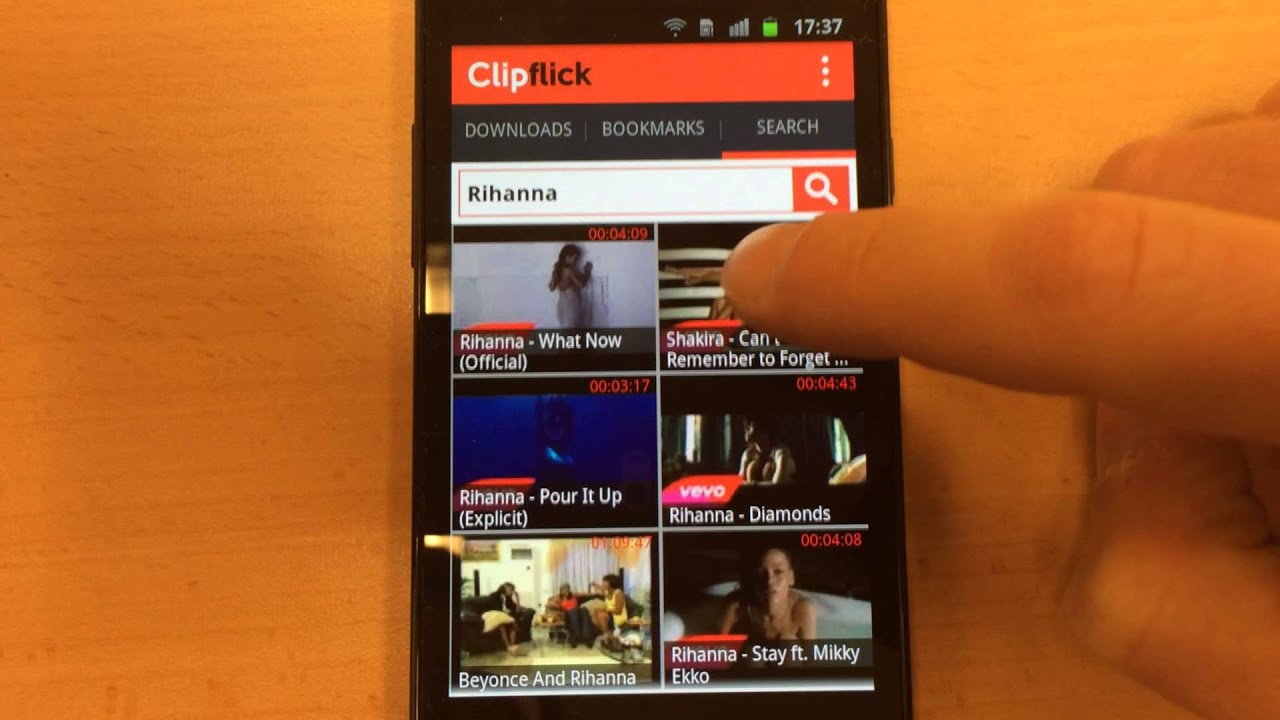 how to download youtube videos to motorola droid