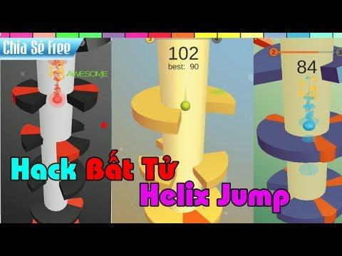 ✔️Hướng Dẫn Cài Và Hack Game Helix Jump │ Hack Bất Tử