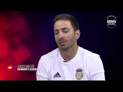 Vasco Matos - Novo treinador do FC Alverca