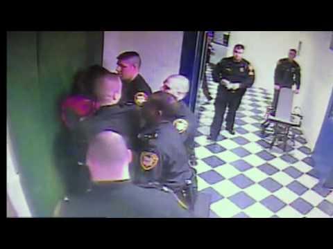 Surveillance video shows Adam 'Pacman' Jones at jail intake