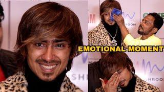 Adnan Shaikh BREAKDOWN in TEARS in front of Dad | EMOTIONAL Moment | Badnaam Song Launch