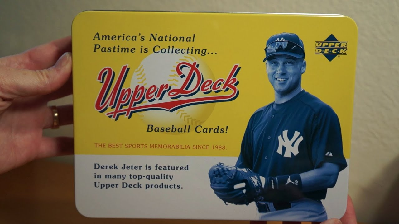 2005 Upper Deck Origins Baseball 1 Tin Box Break Hof Auto