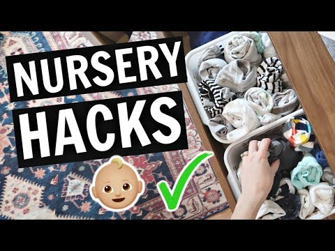 Nursery Hacks Every Mom Should Know (+ BONUS: Nursery Tour!)
