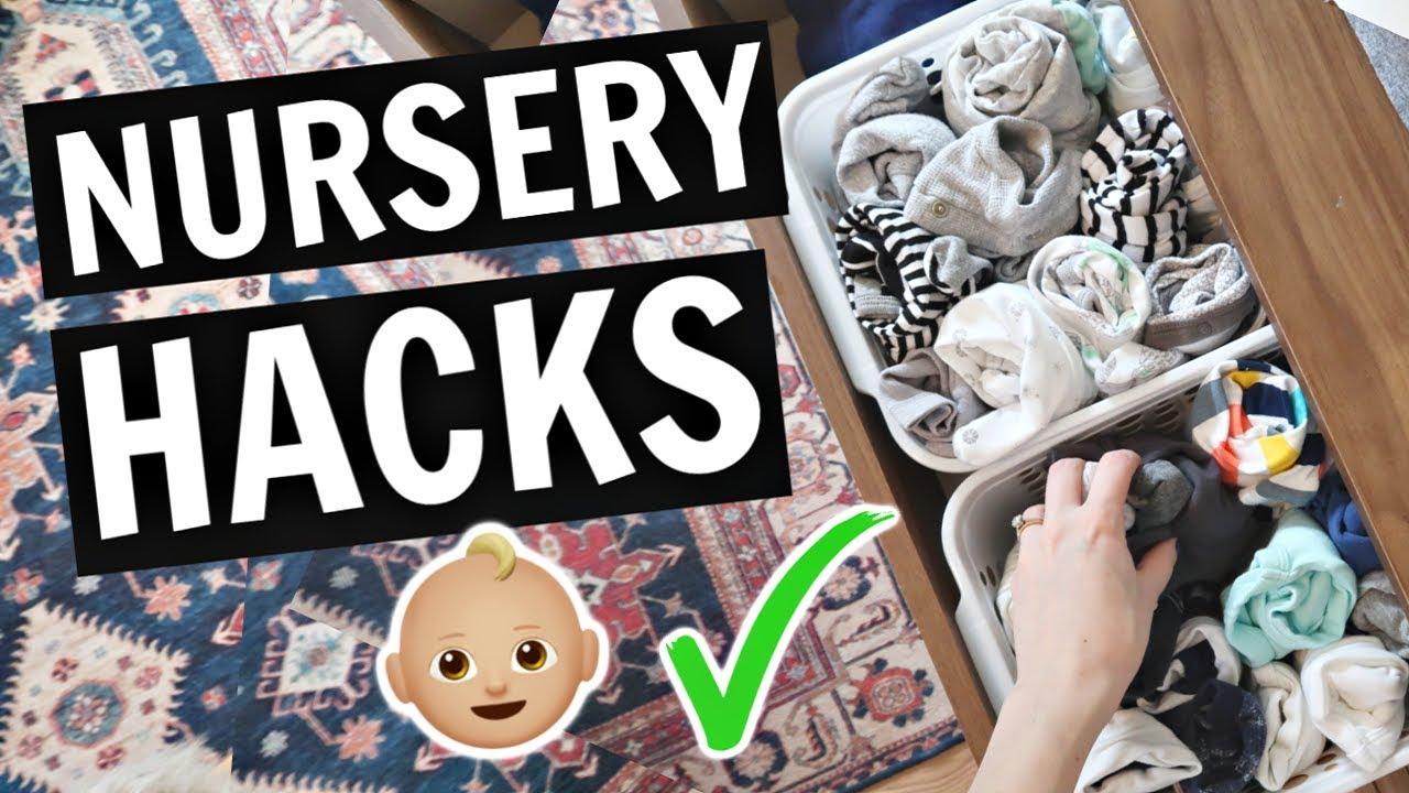 Nursery Hacks Every Mom Should Know Bonus Nursery Tour