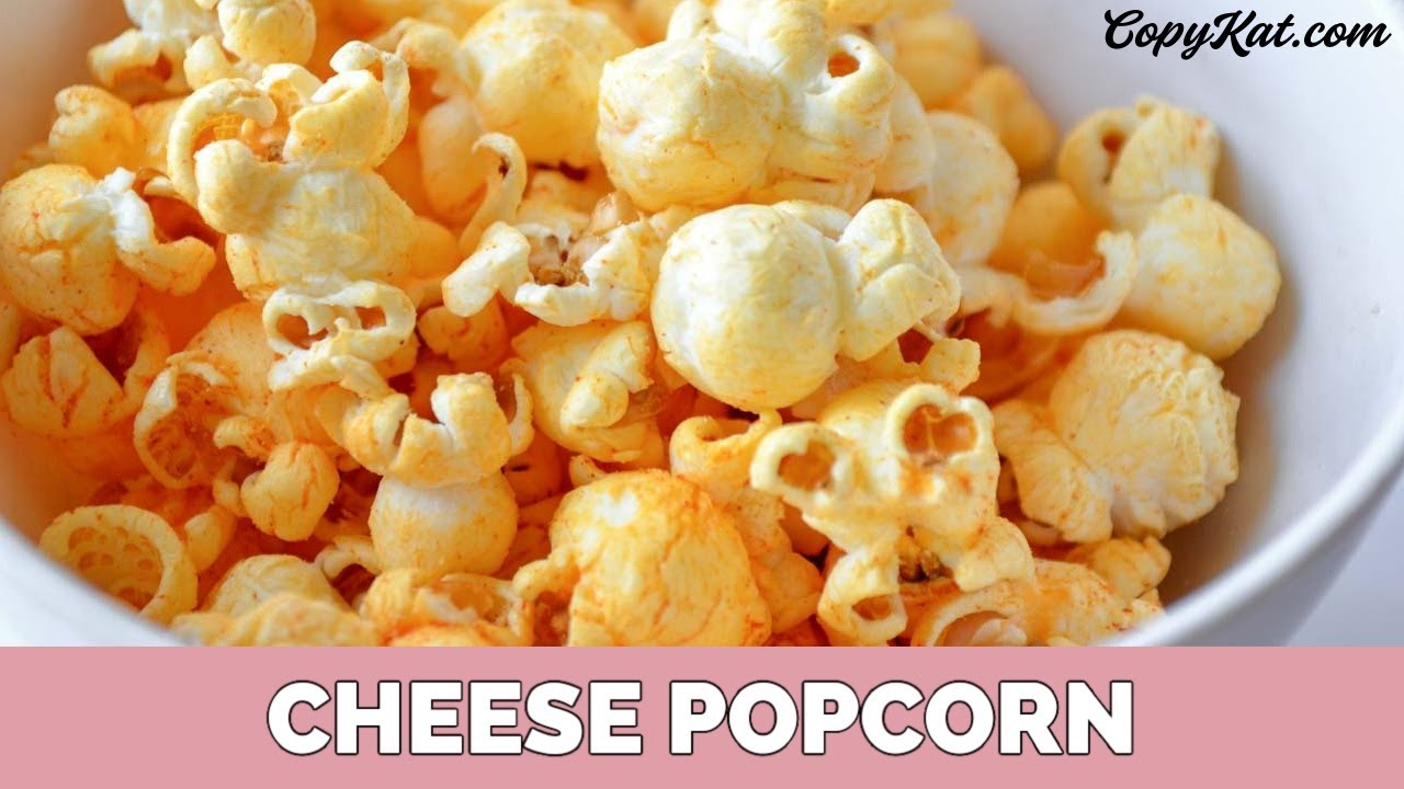 How to Make Cheese Popcorn - YouTube