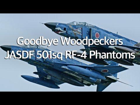 """百里基地 RF-4 ファントム さようなら 501飛行隊  """" Goodbye Woodpecker Phantoms """""""