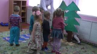 Видеофрагмент занятия во второй младшей группе