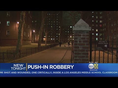 Robbers Push Into Woman's East Harlem Apartment