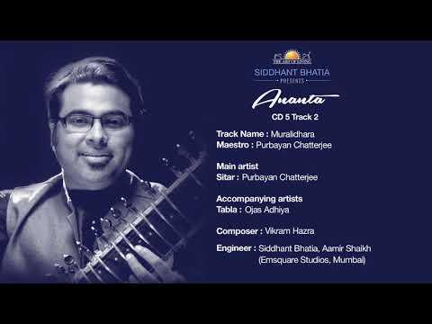 """Ananta"" Volume 1 - Maestros of India - Purbayan Chatterjee"