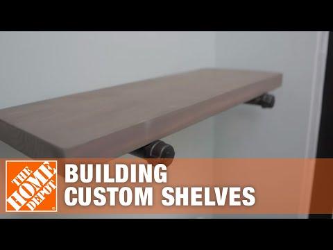 start-to-finishes:-building-custom-shelves-|-the-home-depot