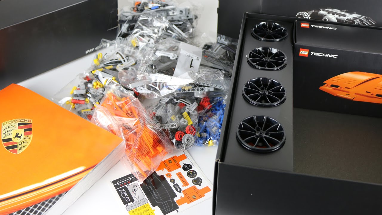 lego technic porsche instructions