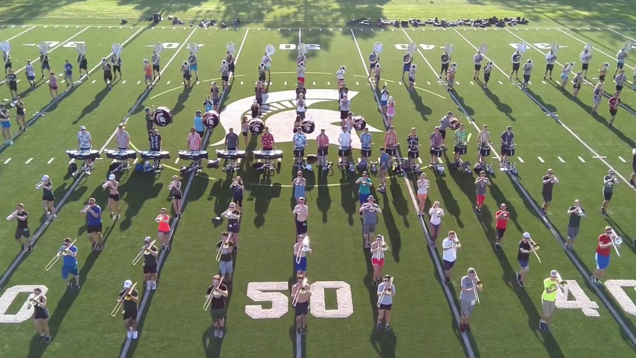 2018 Spartan Marching Band First Fight Song