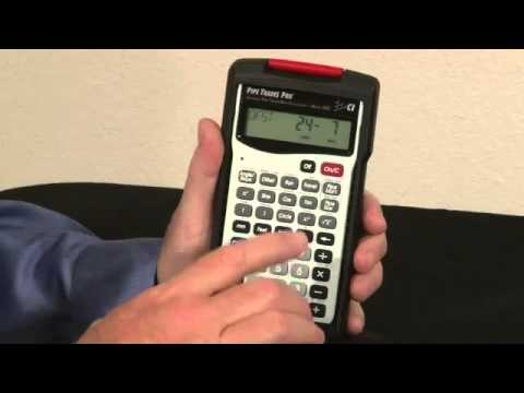 Calculated Industries Pipe Trades Pro Calculator 4095 - YouTube