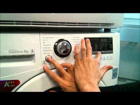 LG Electronics, Activer le mode de démonstration, Lave Linge Prime/Prime+