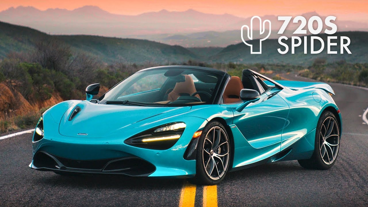 McLaren 720S Spider: Road Review