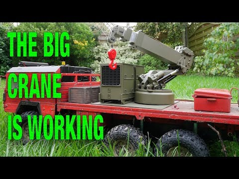 HG P803 1:12 RC Crane It Is Working!