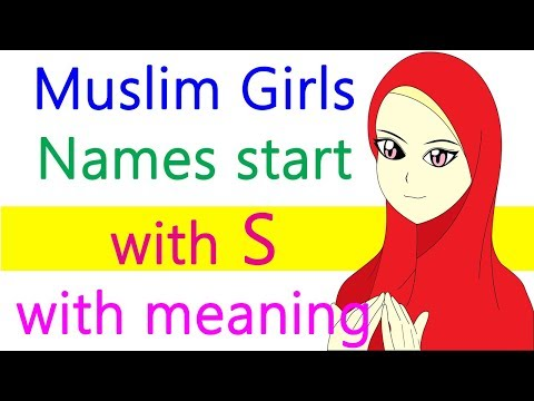 Muslim girls names starting with S with meaning Islamic women names Arabic Persian Turkish Urdu