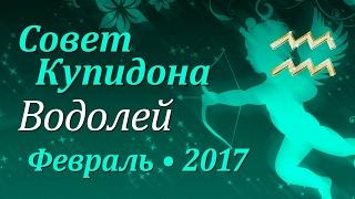 Водолей, совет Купидона на февраль 2017. Любовный гороскоп.