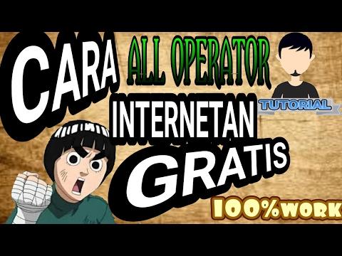 Cara internet gratis 100%work - indo #02