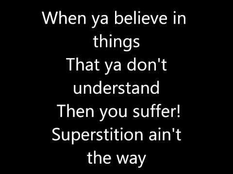 raven symone superstition  lyrics