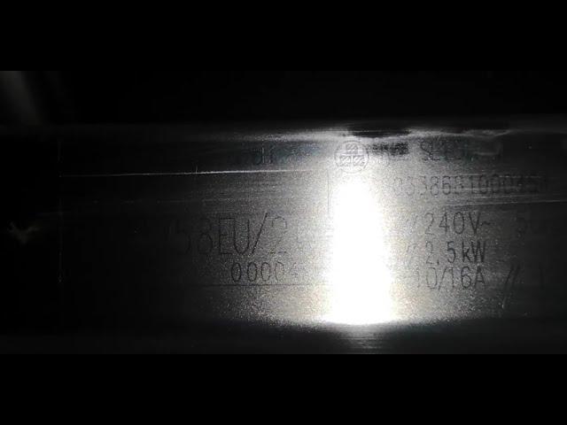 Siemens mosogatógép adat tábla. Nehezen látható....