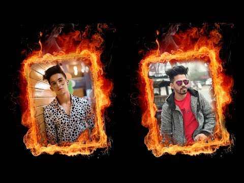 Fire Portrait Effect | PicsArt Editing Tutorial | PIcsArt Photo Editing thumbnail