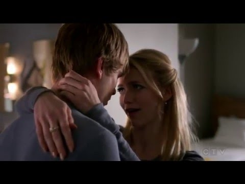 Graham Rogers Caleb Haas kiss  4  Quantico tv series 16